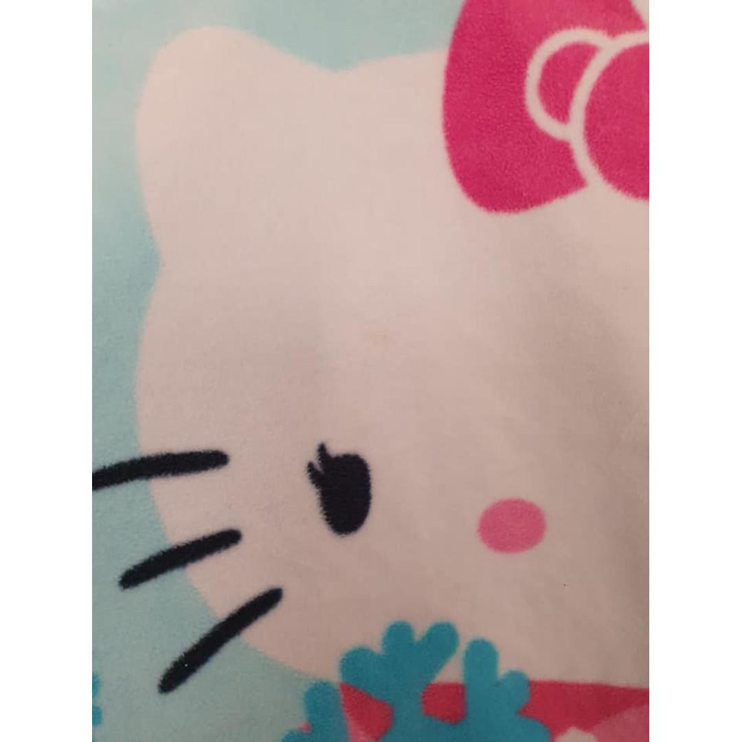 Size 3T (Toddler) Euc polar fleece Hello Kitty pyjamas nightie dress