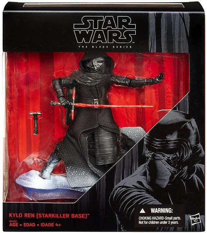 "Star Wars: The Black Series 6"" Kylo Ren (Starkiller Base)"