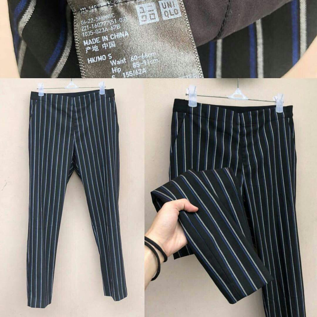 Stripe Pants uniqlo