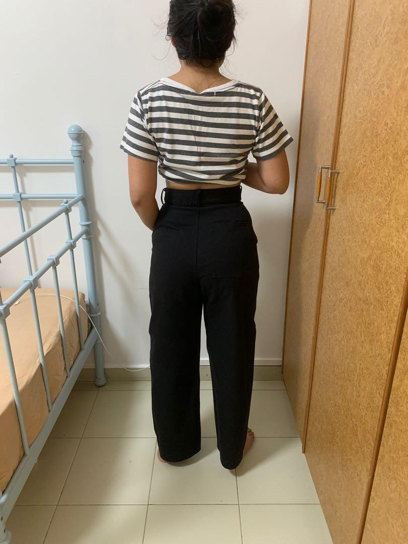 The Editor's Market High-waisted Pants