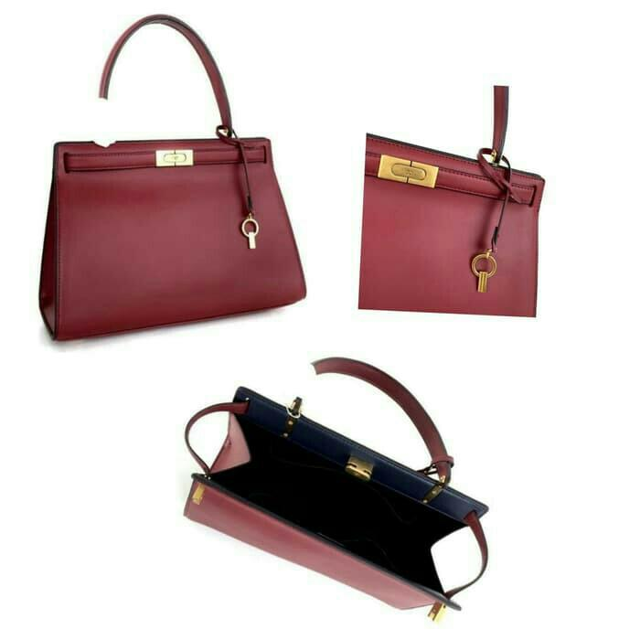 Tory Burch Lee Radziwill Satchell / Tas Branded Original Murah / Satchel Branded / Tas Tory Burch