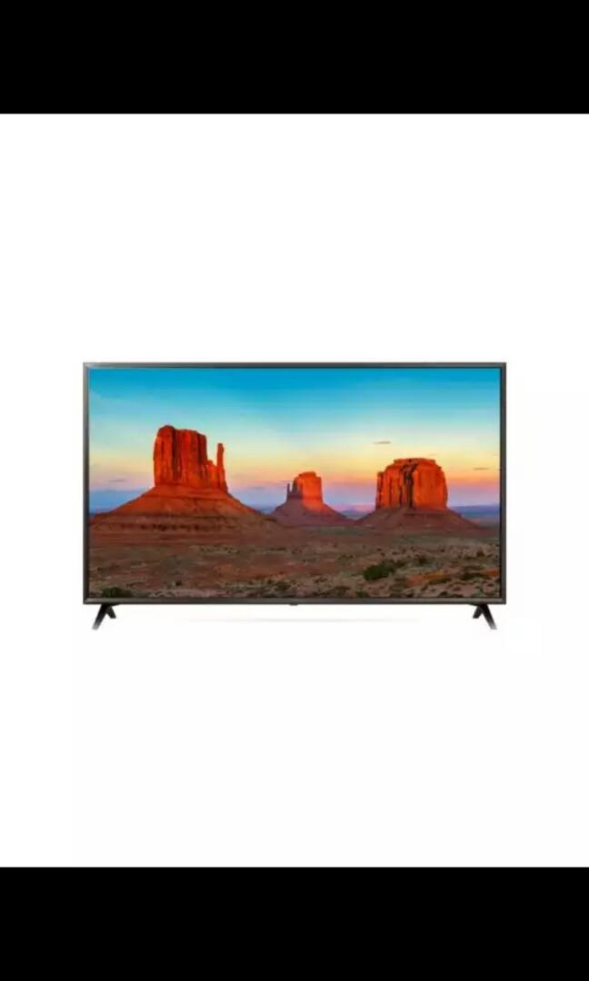 TV LED LG 4K 49 inch 49UK6300PTE Baru