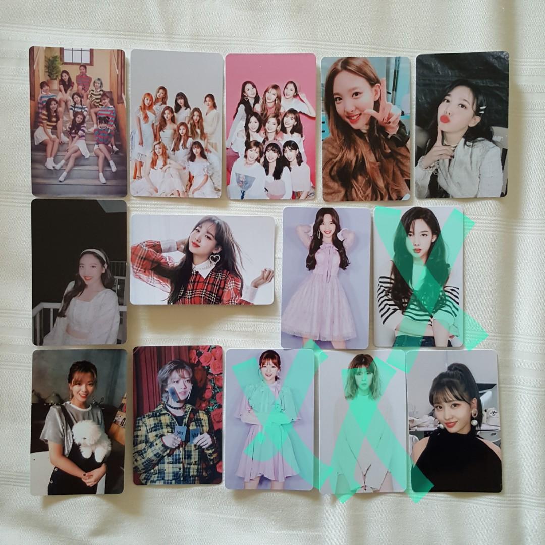 twice nayeon jeongyeon momo sana jihyo mina dahyun chaeyoung tzuyu  unofficial photocard pc lomocard lomo