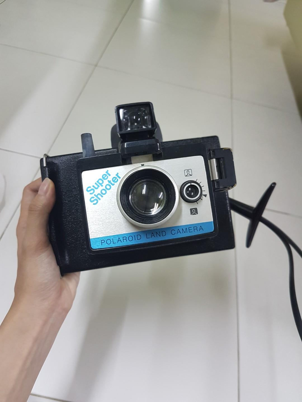 Vintage Polaroid Land Super Shooter with Wrist Strap