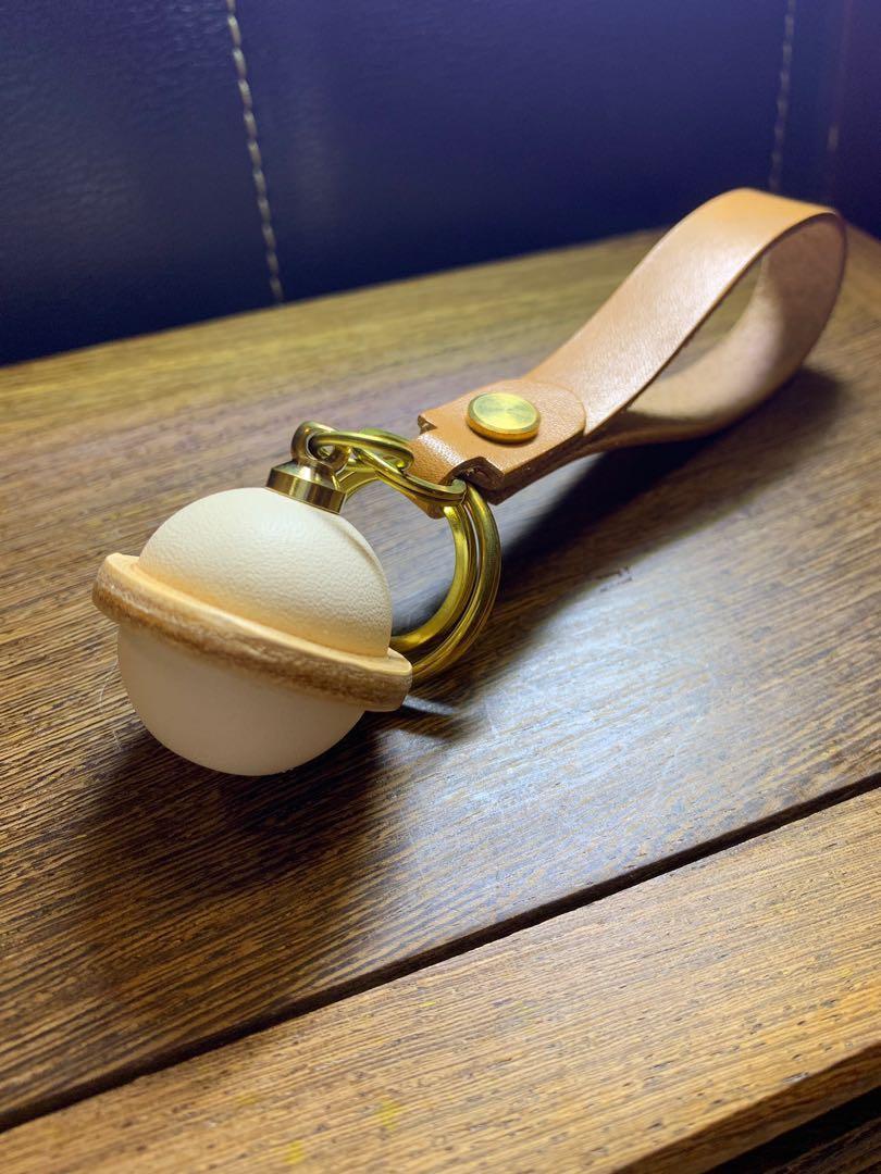 Vol.27 手制皮革 鎖鑰扣 鎖匙扣 皮革鈴鐺 皮革吊飾 Handmade keychain key holder 母親節禮物
