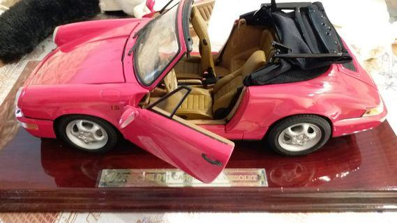 The model Porsche 911carrera4-carriolet 1:14