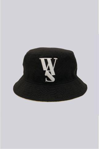 🚚 W.A.S We Are Special Varsity White Logo Bucket Hat