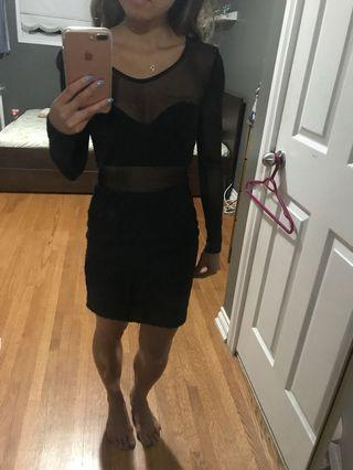 Nastygal Black Dress Size Small