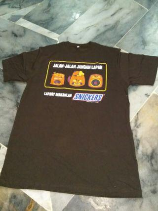 Snickers t-shirt xl