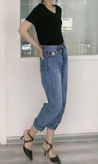 🚚 Highwaist denim jeans
