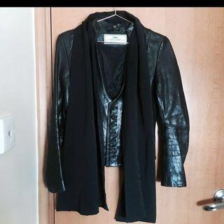 Initial Leather Jacket