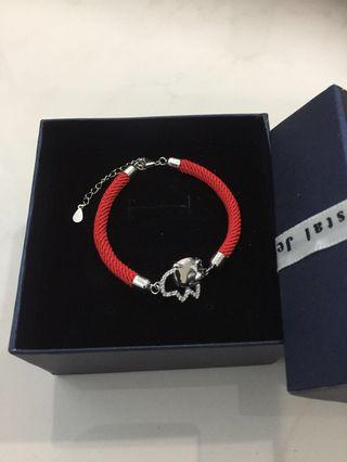 Red Rope Bracelet With Gift Box