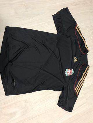 Authentic adidas Liverpool no sponsor formation jersey L size