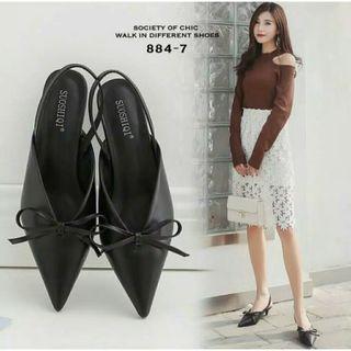 Highheel heels Hils Pita Kecil Gelang korean style Cantik