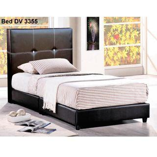 SINGLE FAUX LEATHER BED FRAME @ $99 EACH