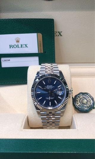 Rolex Datejust 41 126334 Blue