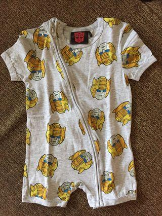 Cotton on kids romper Transformer 12-18