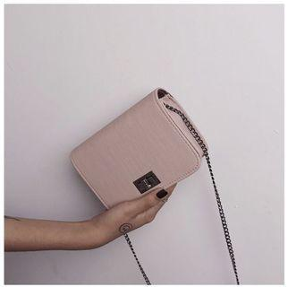 Simple small square sling bag