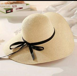 Straw Hat beach hat ladies