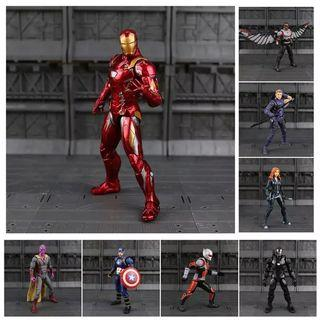 Marvel Superhero Figurines