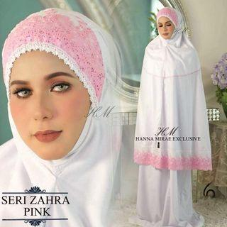 Telekung Seri Zahra by Hannamirae