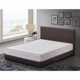 "Queen Divan Bedframe + 9"" Spring Mattress Bedset"