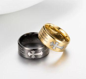 Cross Rings Christian Accessories   Best Christian Ring/Couple Ring