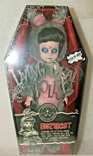 全新絕版限量666隻 Living Dead Dolls LDD Eggzorcist Exclusive UK version Eggy