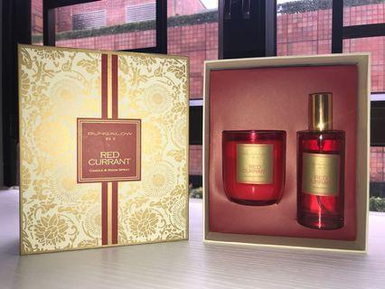 Scented candle & room spray set