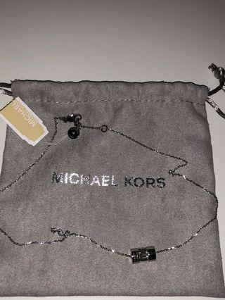 Michael Kors silver necklace