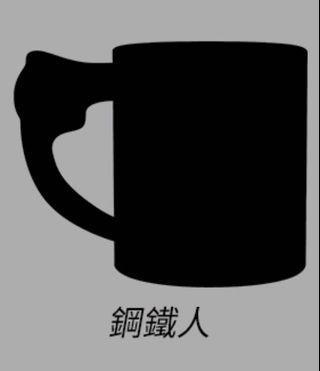 7-11隱藏版鋼鐵人馬克杯