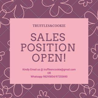 Salesgirl Wanted