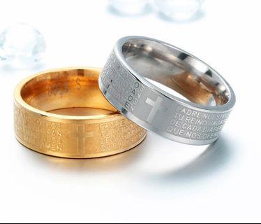 Best Christian Prayer Ring   Couple Rings