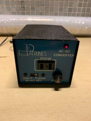 Patronics converter