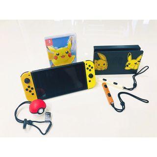 🚚 Nintendo Switch Console System Bundle /w Pokemon Let's Go