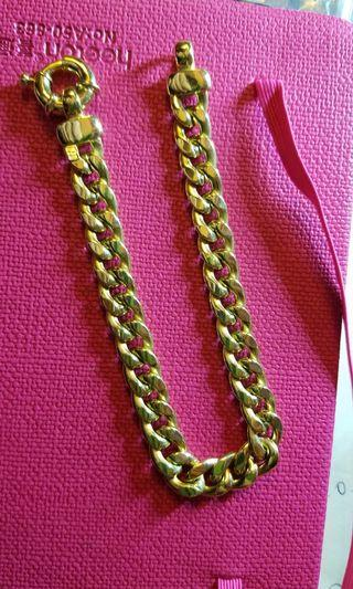 18K750 Yellow Gold 8.4mm Bracelet (8 inches Long )🍃ItalyMade🍃18K750黃金意大利手鍊