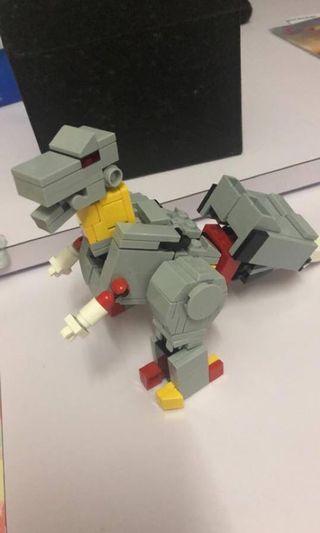 Lego, grimlock, transformer, 鋼索G1