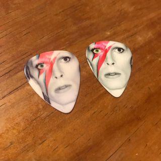 David Bowie Guitar Pick x 2