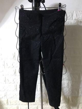 全新7分緊身喱士褲 XL 包郵
