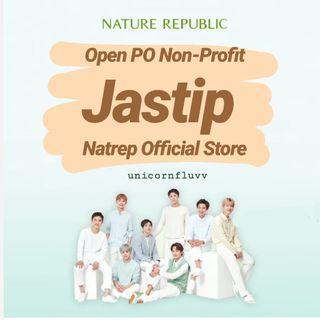 OPEN PO JASTIP NATURE REPUBLIC NON-PROFIT TANPA FEE