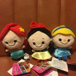 💮包包面公主系列💮美人魚 灰姑娘 白雪公主