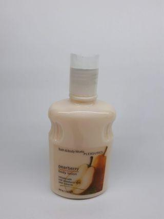 BBW, Pearberry body lotion