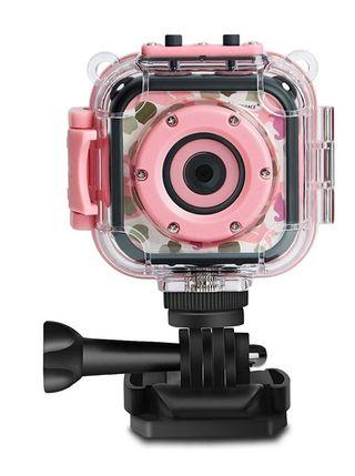 #EndgameYourExcess. DROGRACE Children Kids Camera Waterproof Digital Video HD Action Camera 1080P Sports Camera Camcorder DV for Girls Birthday Holiday Gift Learn Camera Toy 1.77'' LCD Screen (Pink)