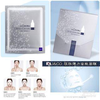 韓國J& CO:CEU胜肽泡泡彈力面膜25ML1盒7片