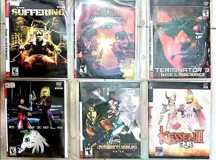 Playstation 2 Vintage DVD Games