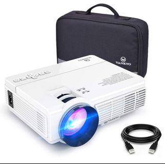 #EndgameYourExcess. VANKYO LEISURE 3 Mini Projector, Full HD 1080P and 170'' Display Supported, 2400 Lux Portable Movie Projector with 40,000 Hrs LED Lamp Life, Compatible with TV Stick, PS4, HDMI, VGA, TF, AV and USB