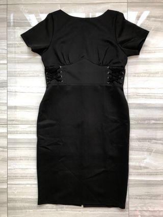 Ohvola Black Dress