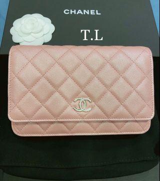 Rare!! Brand new WOC in stunning Irisdescent pink!!