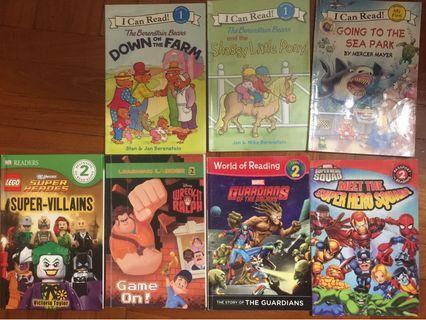 Junior Readers story books