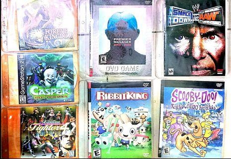 Vintage Playstation 2 DVD Games